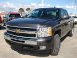 2010 Taupe Gray Metallic Chevrolet Silverado 1500 LT Extended Cab 4x4 #26460551