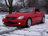 2001 Magma Red Mercedes-Benz SLK 230 Kompressor Roadster #26460415