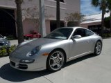 2005 Porsche 911 Silver