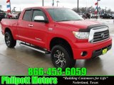 2007 Radiant Red Toyota Tundra Limited Double Cab 4x4 #26460266