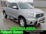 2008 Silver Sky Metallic Toyota Tundra Limited CrewMax 4x4 #26460267