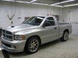 2004 Bright Silver Metallic Dodge Ram 1500 SRT-10 Regular Cab #26505300