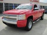 2007 Victory Red Chevrolet Silverado 1500 LT Crew Cab #26505504