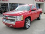 2008 Victory Red Chevrolet Silverado 1500 LT Regular Cab #26505513