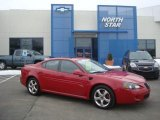 Sport Red Metallic Pontiac Grand Prix in 2006