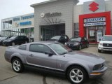 2007 Tungsten Grey Metallic Ford Mustang V6 Deluxe Coupe #26505351