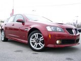 2009 Sport Red Metallic Pontiac G8 Sedan #26505192
