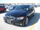 2007 Jet Black BMW 3 Series 335i Sedan #26505548