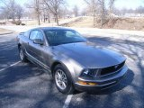 2005 Legend Lime Metallic Ford Mustang V6 Deluxe Coupe #26505731