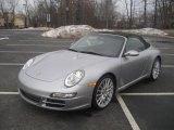 2008 Arctic Silver Metallic Porsche 911 Carrera S Cabriolet #26549419