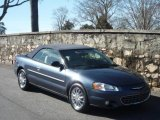 2002 Steel Blue Pearl Chrysler Sebring Limited Convertible #26549100