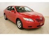 2008 Barcelona Red Metallic Toyota Camry LE #26549428