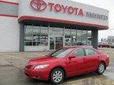 2008 Barcelona Red Metallic Toyota Camry XLE #26549124