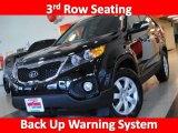 2011 Ebony Black Kia Sorento LX #26549138
