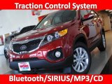 2011 Spicy Red Kia Sorento EX V6 #26549141