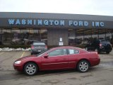 2002 Ruby Red Pearl Chrysler Sebring LXi Coupe #26549301