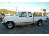 Colonial White Ford F150 in 1995