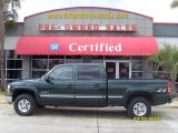 2001 Forest Green Metallic Chevrolet Silverado 1500 LS Crew Cab 4x4 #26549076