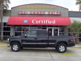 2002 Onyx Black Chevrolet Silverado 1500 LS Extended Cab 4x4 #26549077
