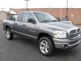 2007 Mineral Gray Metallic Dodge Ram 1500 Big Horn Edition Quad Cab 4x4 #26549215
