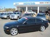 2006 Jet Black BMW 3 Series 325i Coupe #26595550