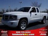 2010 Stone White Dodge Dakota Big Horn Extended Cab #26595263