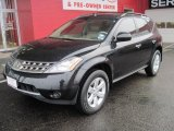 2006 Super Black Nissan Murano S #26595560
