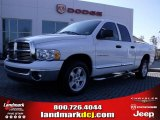 2005 Bright White Dodge Ram 1500 Laramie Quad Cab #26595275