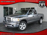 2008 Mineral Gray Metallic Dodge Ram 1500 Big Horn Edition Quad Cab #26595010