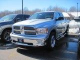 2010 Bright Silver Metallic Dodge Ram 1500 Big Horn Crew Cab 4x4 #26595718
