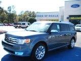 2010 Steel Blue Metallic Ford Flex Limited #26595157