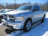 2010 Bright Silver Metallic Dodge Ram 1500 Big Horn Quad Cab 4x4 #26595727
