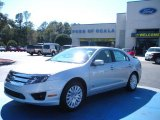 2010 Brilliant Silver Metallic Ford Fusion Hybrid #26595168