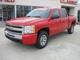 2009 Victory Red Chevrolet Silverado 1500 LT Crew Cab 4x4 #26595599