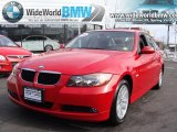 2007 Crimson Red BMW 3 Series 328xi Sedan #26595033