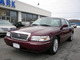 2009 Dark Toreador Red Metallic Mercury Grand Marquis LS Ultimate Edition #26595316