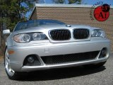 2004 Silver Grey Metallic BMW 3 Series 330i Convertible #26595329