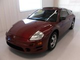 2003 Ultra Red Pearl Mitsubishi Eclipse GS Coupe #26595763