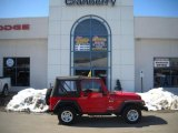 2006 Flame Red Jeep Wrangler X 4x4 #26595200