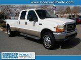 1999 Oxford White Ford F350 Super Duty Lariat Crew Cab 4x4 Dually #26594918