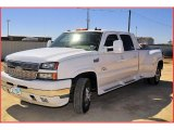2006 Summit White Chevrolet Silverado 3500 LT Crew Cab 4x4 Dually #26595494