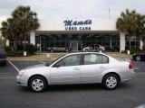 2005 Galaxy Silver Metallic Chevrolet Malibu LS V6 Sedan #26595511