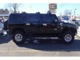 2003 Black Hummer H2 SUV #26595836