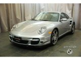 2007 Arctic Silver Metallic Porsche 911 Turbo Coupe #26594967