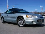 2002 Sterling Blue Satin Glow Chrysler Sebring Limited Convertible #26594981