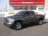 2008 Mineral Gray Metallic Dodge Ram 1500 Sport Quad Cab 4x4 #26672947