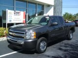 2010 Taupe Gray Metallic Chevrolet Silverado 1500 LS Extended Cab #26595104