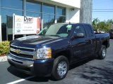 2010 Imperial Blue Metallic Chevrolet Silverado 1500 LS Extended Cab #26595106