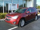 2010 Cardinal Red Metallic Chevrolet Equinox LT #26595109