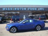 2005 Sonic Blue Metallic Ford Mustang GT Premium Coupe #26673264
